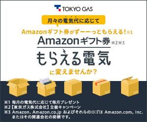 【東京ガス】もらえる電気